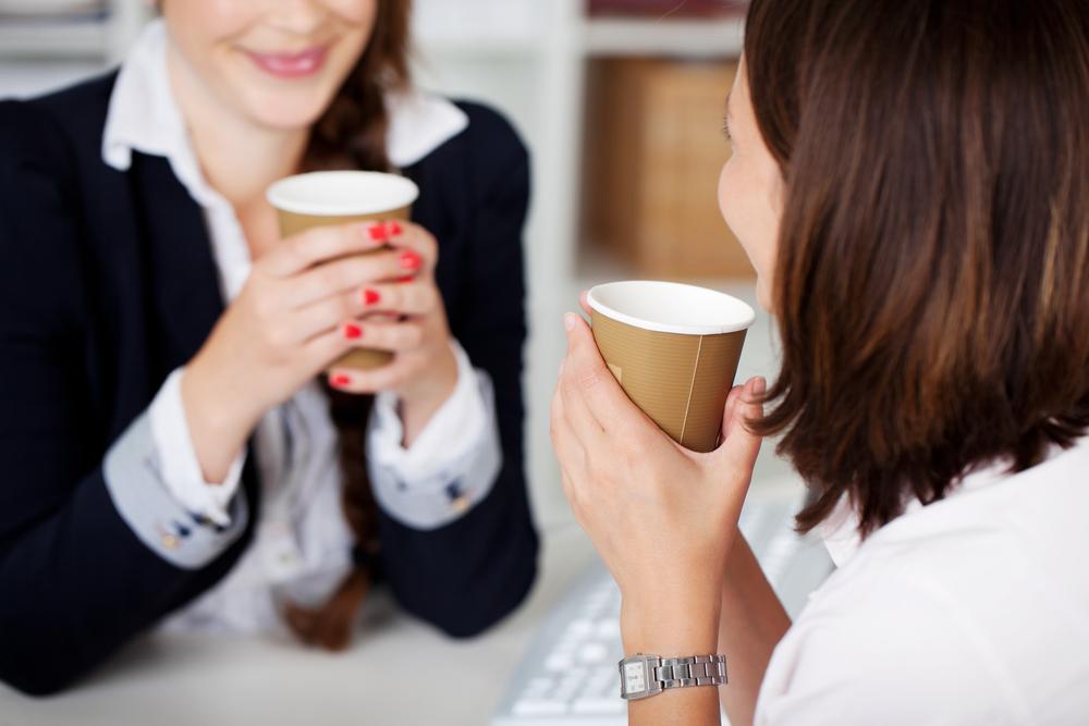 Kaffee für die Angestellten