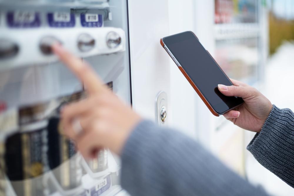 Standautomaten mit Bezahlfunktion