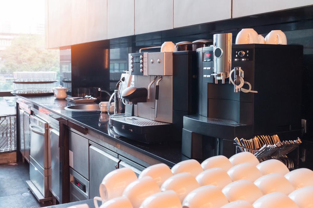 Kaffeevollautomaten für das Büro