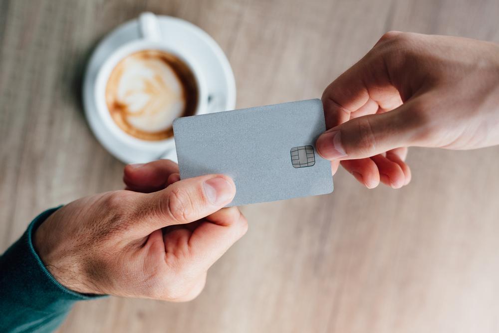 Kaffeevollautomat - Bezahlen mit Wertkarten